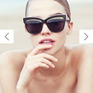 Dior Graphic Cat Eye Sunglasses 55mm